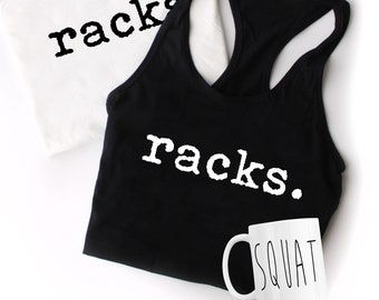 Squat Racks - Coffee Mug and Tank Box Set