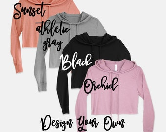 e72943770b6244 Crop Tops Cropped Sweater Cropped Hoodie Custom Hoodie Loose Fit Sweater  Custom Hoody for her personalized hoodie relaxed fit custom sweater