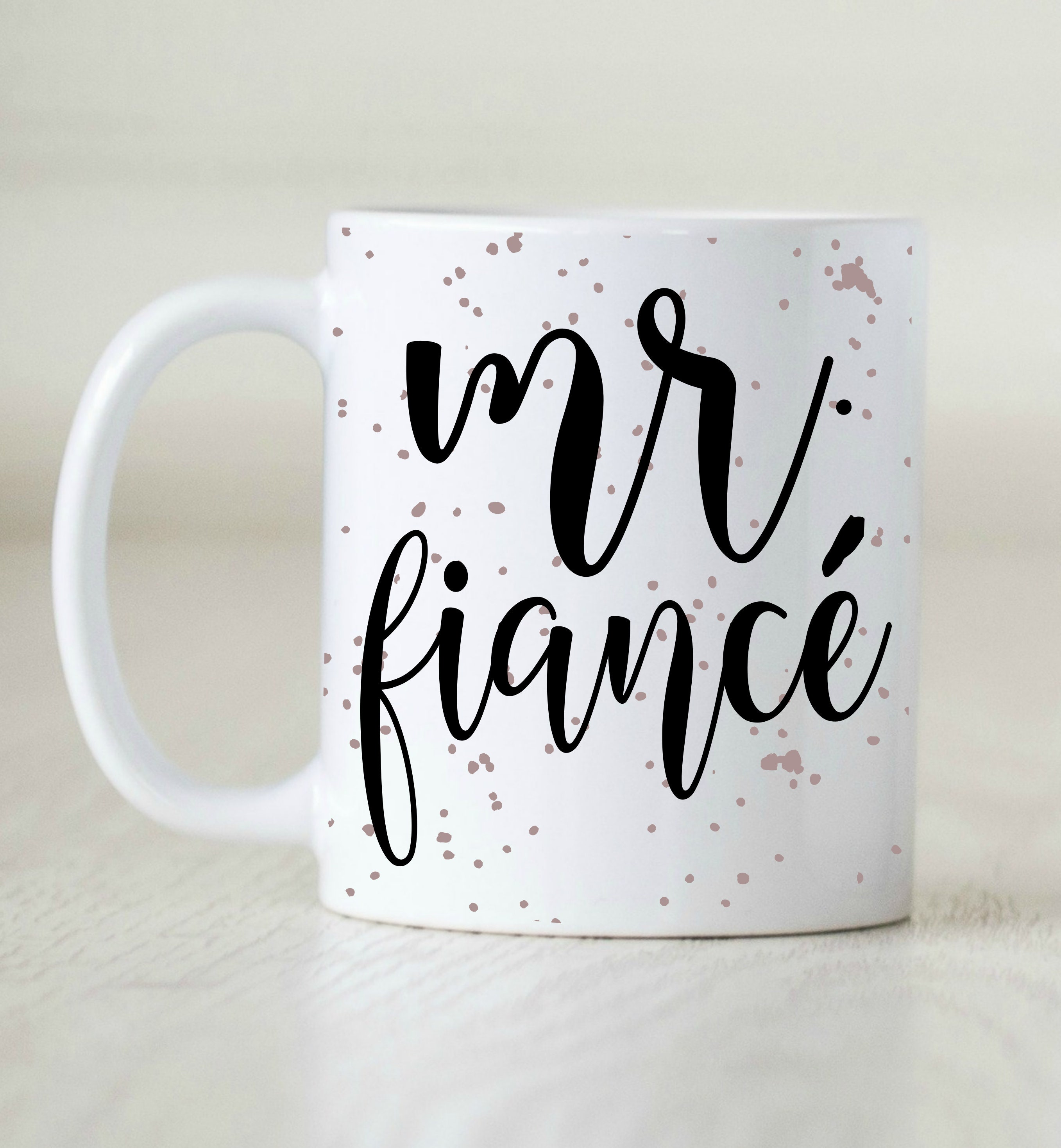 Engagement Gift For Him Fiance Mug