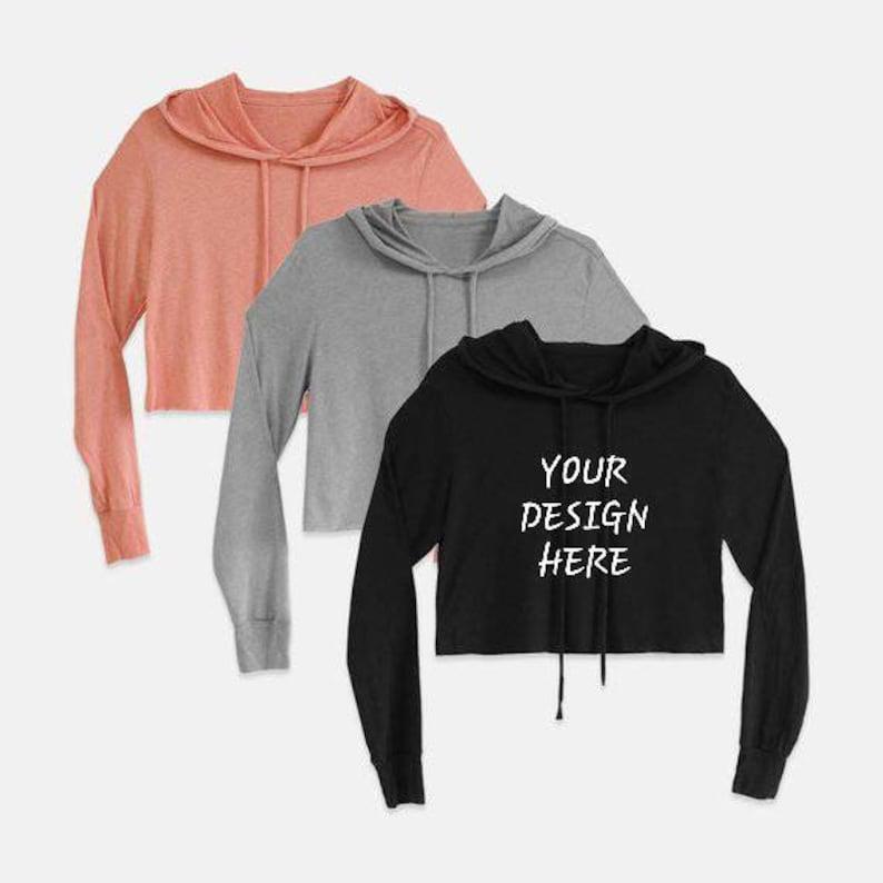8693cb011b9a9f Crop Tops Cropped Sweater Cropped Hoodie Custom Hoodie