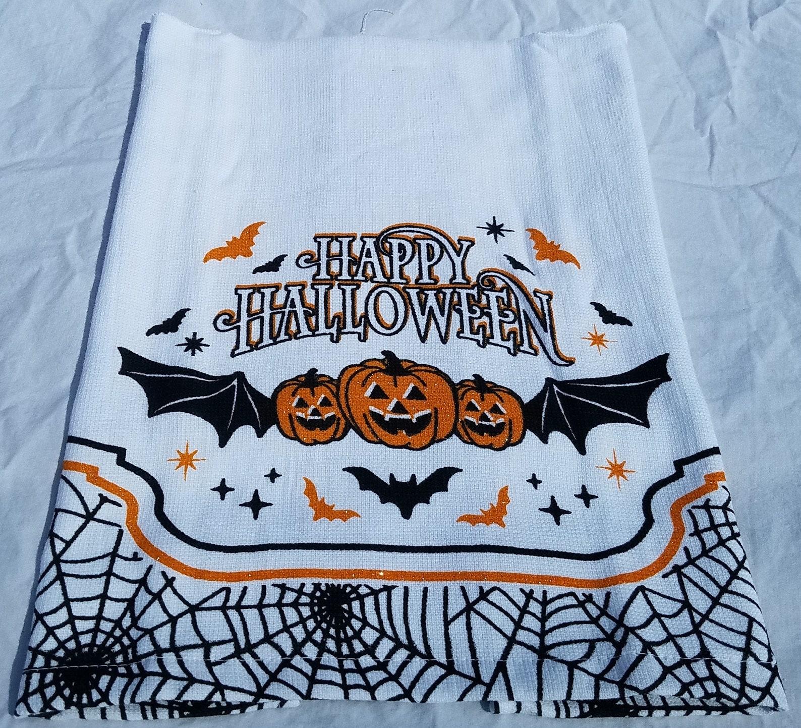 Happy Halloween Kitchen Towels