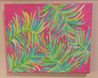 Lilly Pulitzer- Inspired Tropical Fonds