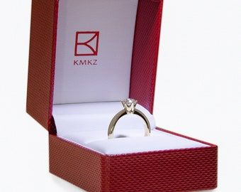 Engagement Ring created from 2 Brass Hex Nuts