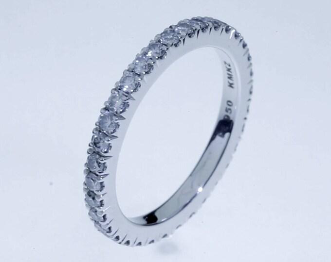 Anillo de Diamantes Eternity - Platino 950