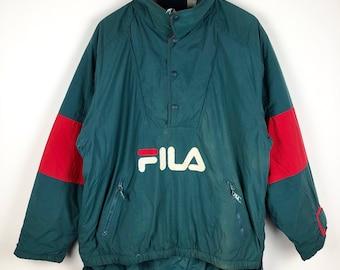Vintage Fila half zipper ski jacket | M size