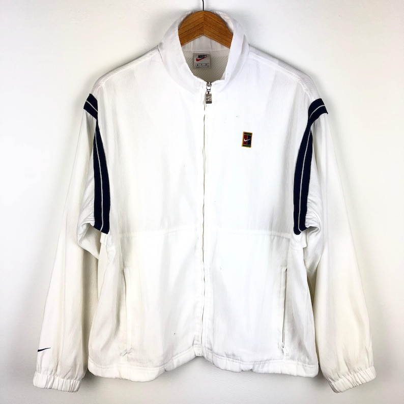 cc9c694243 Vintage Nike tennis trainer jacket S size Very good