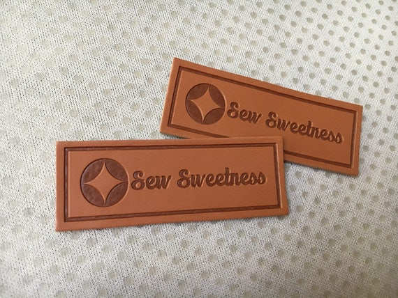 300 Custom Pu Leather Tags Leather Tags For Clothing Leather Etsy
