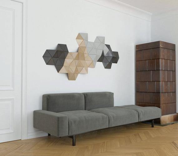 Wand Skulptur Holz Wand Dekor 3d Wandskulptur | Etsy