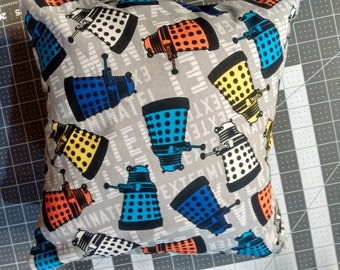 12x12 Dr. Who Dalek pillow