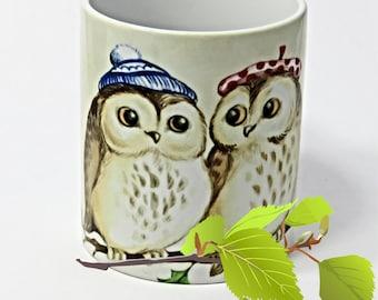 Owls, Owls mug, Cute Pair of Owls, Owls Coffee Mug, Cute Owl Gifts, Owl gifts