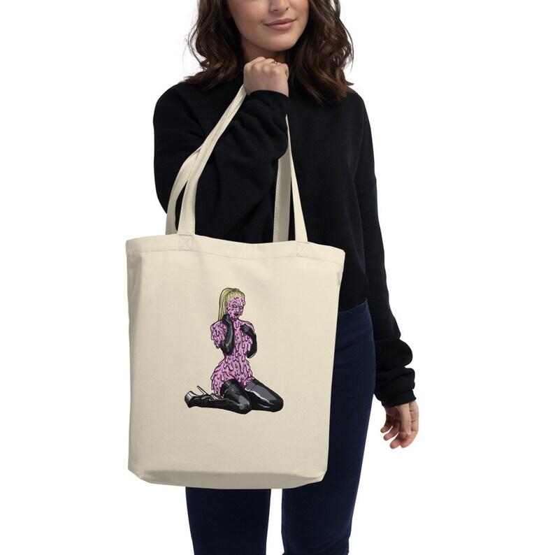 Slimer Girl Eco Tote Bag