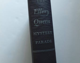 The Ellery Queen Mystery Parade Greek Coffin Mystery Siamese Twin Mystery Vintage First Edition 1944