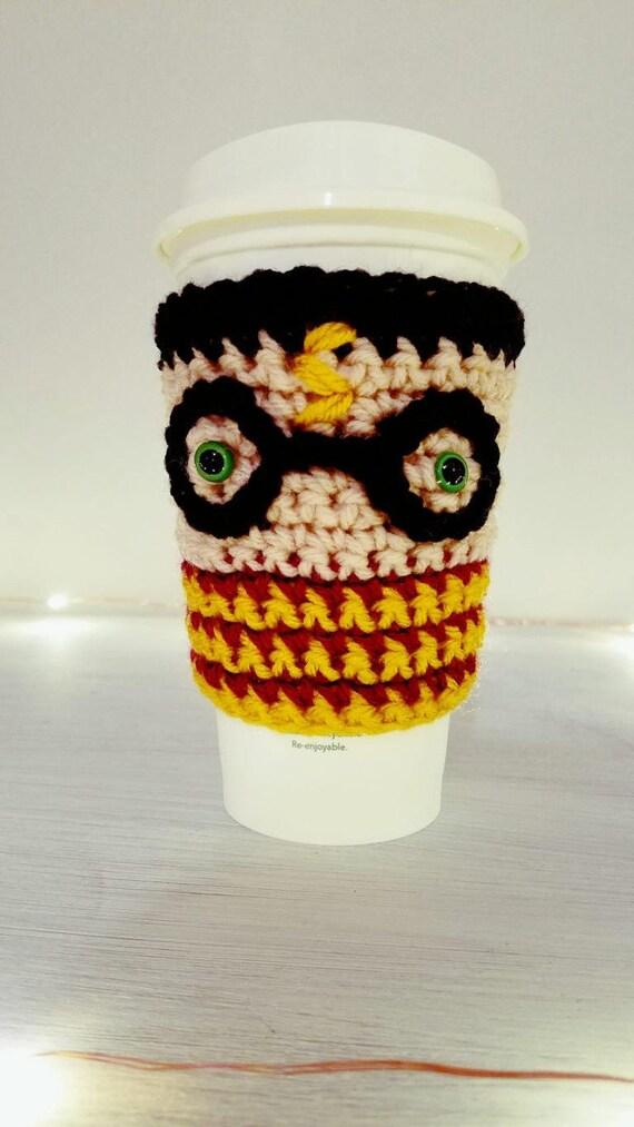 Harry Potter Coffee Cozy Crochet Pattern Instant Download Etsy