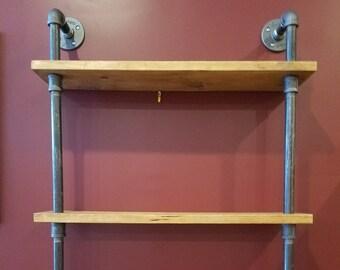 Industrial Steam Punk 3-tier Shelf