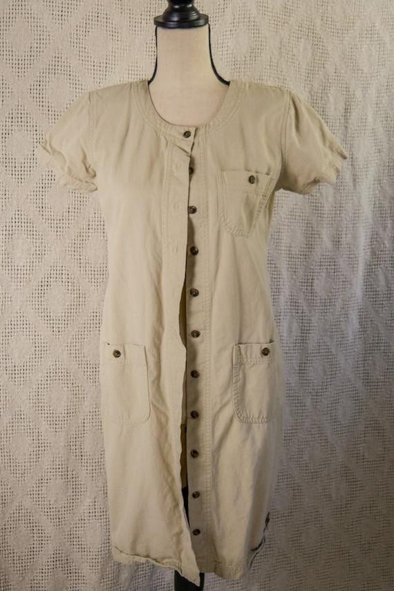 Vintage 1990's Short Cargo Dress