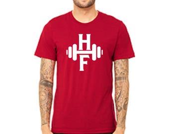 Red Shirt - Crew Neck - HowHard Fitness