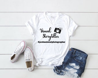 "Photographer's ""Visual Storyteller"" T-shirt"