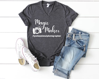 "Photographer's ""Magic Maker"" T-shirt"