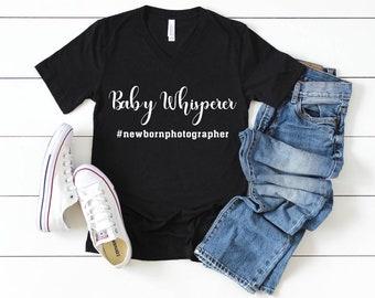 """Photographer's """"Baby Whisperer"""" T-shirt"""