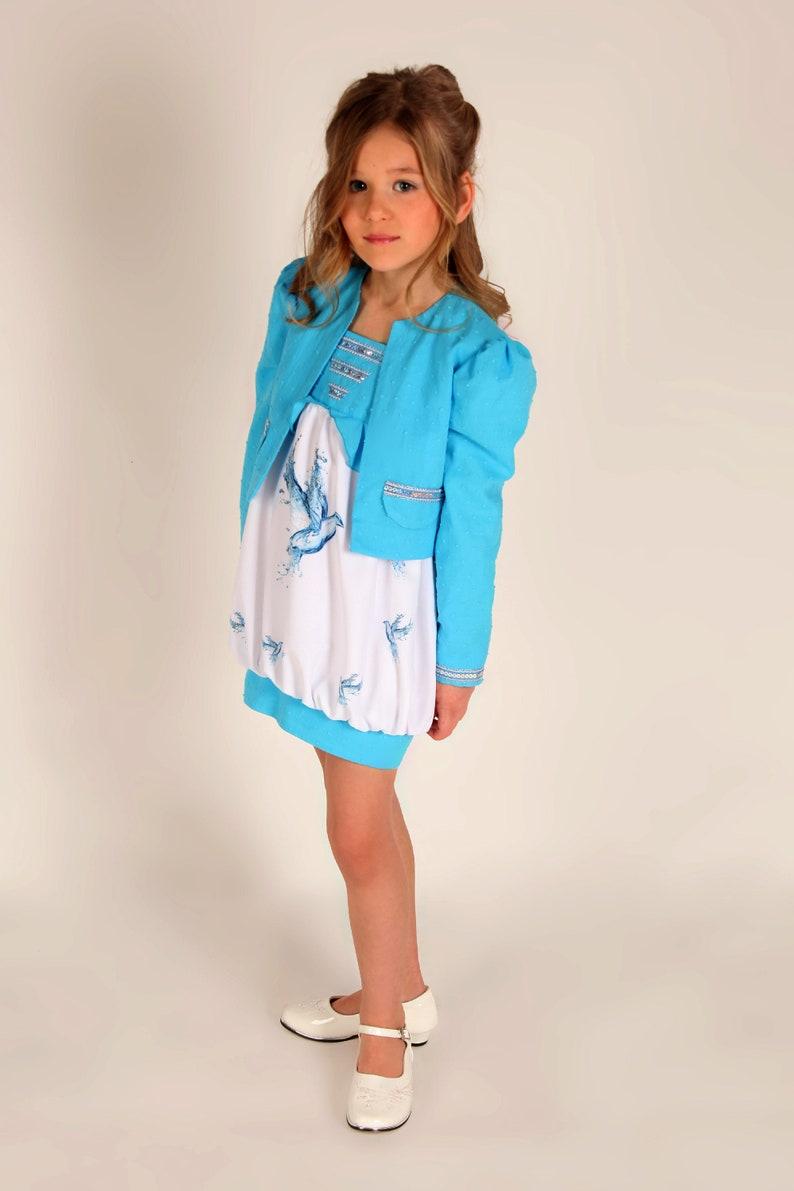 EinschulungEtsy Kleid Mädchen Kinder Zur Festliches X80wPOkn