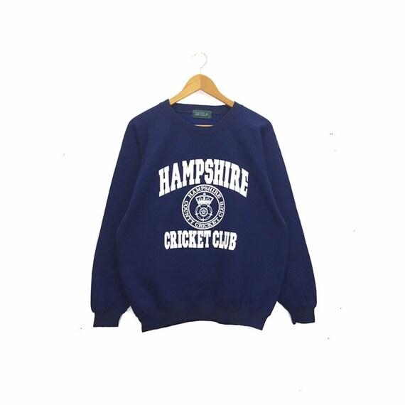 Rare!! Vintage Hampshire cricket Club Sweatshirt P