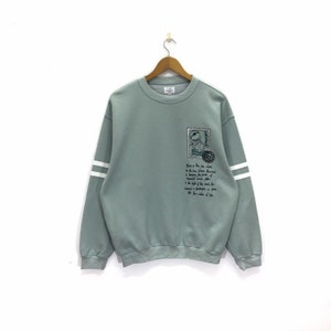 Vintage Jean Charles De Castelbajac Sports Sweatshirt Hip Hop Spellout Big Logo