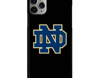 NOTRE DAME FIGHTING IRISH iPhone 6//6S 7 8 Plus X//XS XR 11 12 Pro Max Mini Case