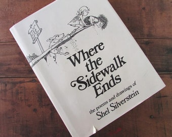 Where sidewalk ends etsy where the sidewalk ends poems and drawings by shel silverstein fandeluxe Choice Image