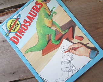 Drawing Dinosaurs You Can Draw Dinosaurs How To Draw for Children 1986