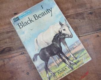 Black Beauty Anna Sewell Vintage Companion Library Unabridged Illustrated by E. Raymond Kinstler