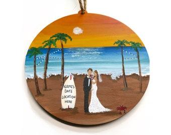 Beach wedding gift   Etsy