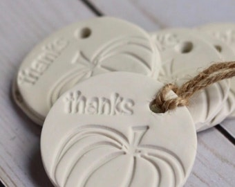 Bridal Shower Favors  - Give Thanks - Fall Wedding Favors - Pumpkin Wedding Favors - Fall Wedding Decor - Thanksgiving Table Decor -  Fall