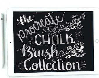 Procreate brush collection - procreate brush - procreate app brush - procreate lettering brush - ipad pro lettering - digital lettering