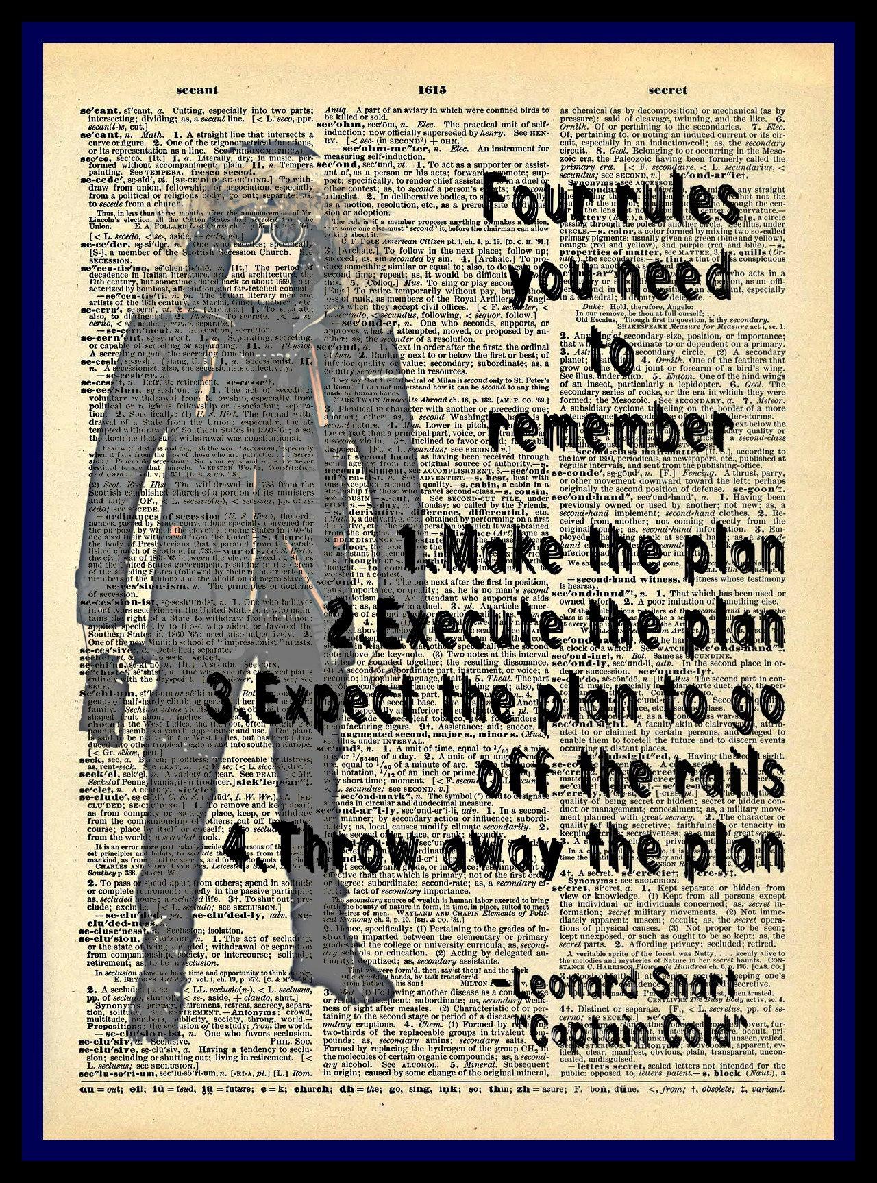 Compre 2 obtenga 1 gratis cuatro reglas Leonard Snart capitán   Etsy