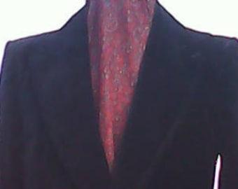 Velvet Suit By Van Gils 1970s.