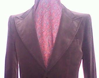 Lord John Velvet Suit 1970s.