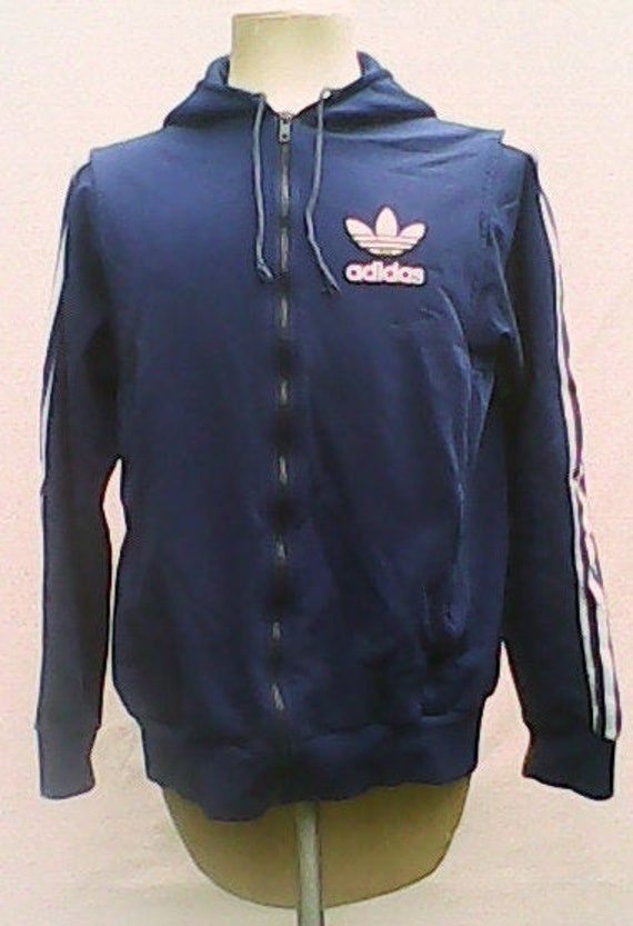 Adidas Hooded Top 1970s.