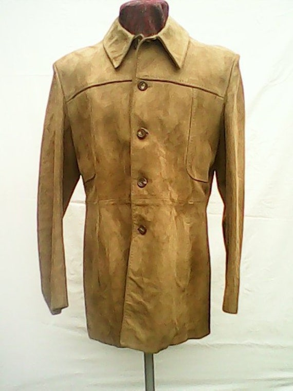 Suede Jacket By Austin Reed 1970s.
