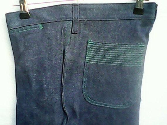 Wrangler Blue Bell Jeans Flared 1970s. - image 5