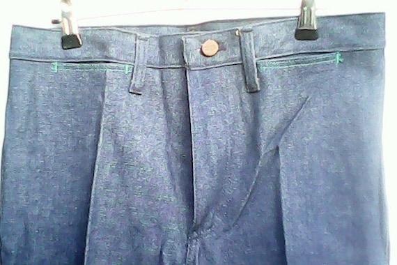 Wrangler Blue Bell Jeans Flared 1970s. - image 7
