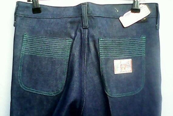 Wrangler Blue Bell Jeans Flared 1970s. - image 6