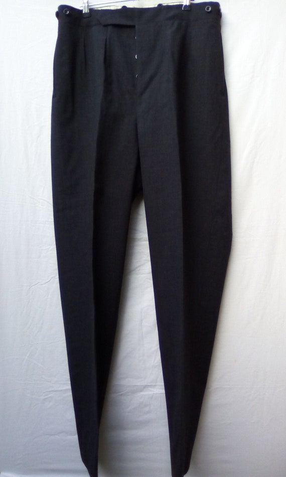 Trousers Tailored 1950s.