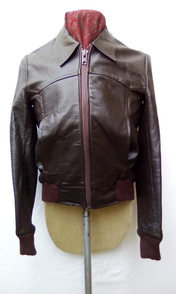 Leather Jacket 1970s
