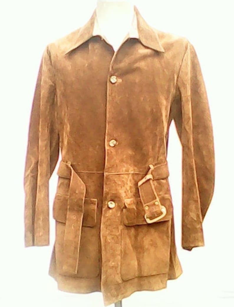 Suede Jacket By Austin Reed 1960s Etsy