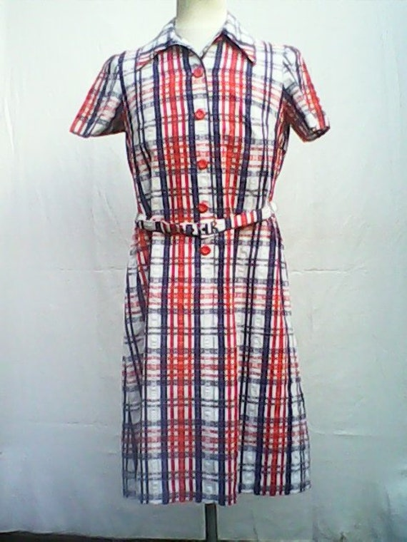 Horrockses Dress 1970s.