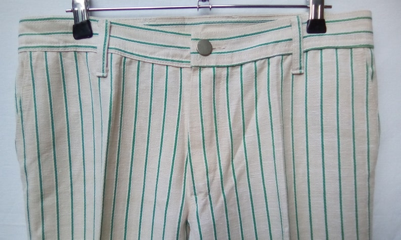 Trousers Flared By Weekend 1960s.