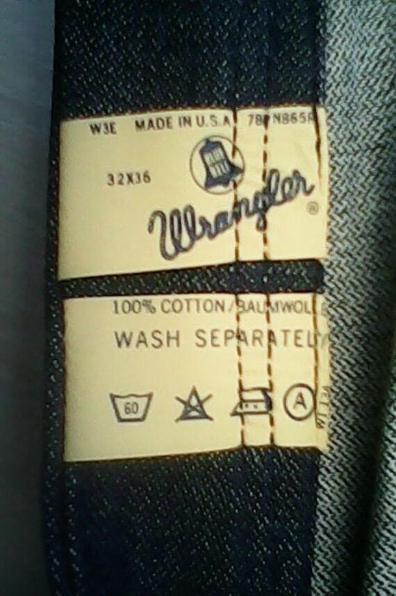 Wrangler Blue Bell Jeans Flared 1970s. - image 8