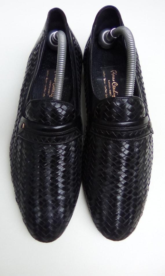 Pierre Cardin Basket Weave Shoes 1970s.