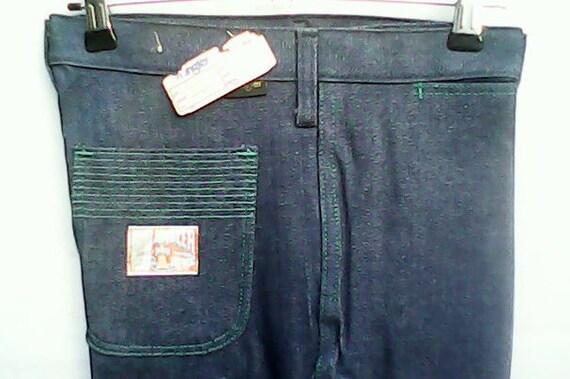 Wrangler Blue Bell Jeans Flared 1970s. - image 2