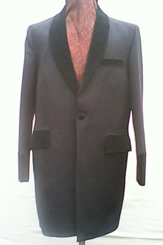 Drape/Edwardian Jacket.